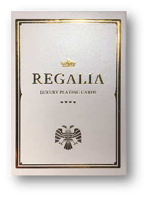 Regalia White Playing Cards by Shin Lim Poker Spielkarten