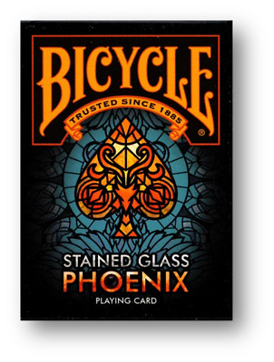 Bicycle - Stained Glass Phoenix Playing Cards Poker Spielkarten