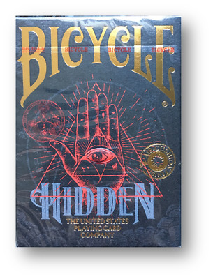 Bicycle - Hidden Playing Cards Poker Spielkarten