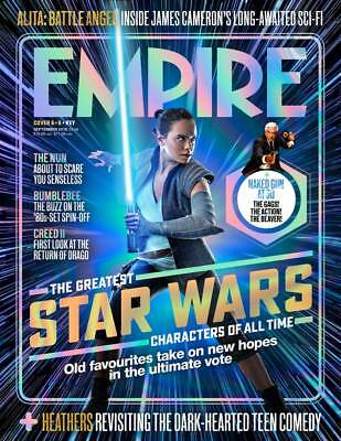 Empire Magazine Sept 2018: GREATEST STAR WARS CHARACTERS #6 Daisy Ridley (Rey)