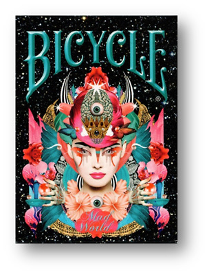 Bicycle Mad World Playing Cards Poker Spielkarten