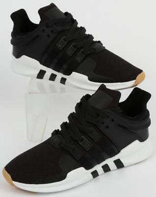 buy popular bcb9b cd0f8 ADIDAS EQT SUPPORT Adv Trainers in Black, White & Gum - Equiptment Support  SALE