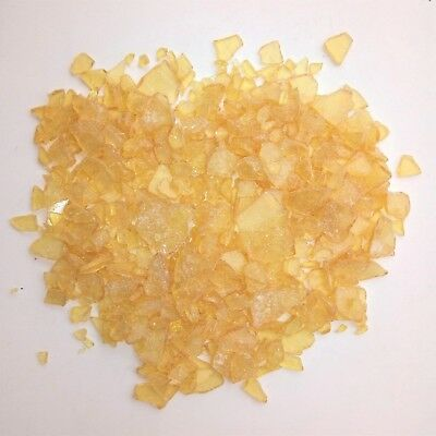 """8 oz High-Grade """"Pebble Style"""" Pure Pine Gum Rosin Colophony flux resin"""