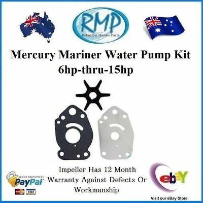A Brand New Water Pump Kit Suits Mercury Mariner 6hp-thru-15hp # R 47-42038T3 K