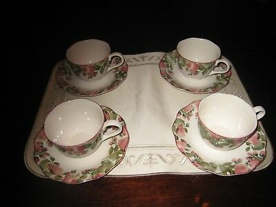 4 SETS OF Nikko China Precious Cups and Saucers - NEVER USED - $7.95 ...