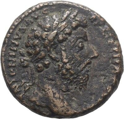 Lanz Roman Empire Marcus Aurelius As Rome Roma Shield Rare Bronze §tel1046