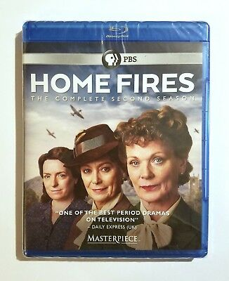 Home Fires: The Complete Second Season 2 Two (2016) NEW Blu-ray Masterpiece, PBS