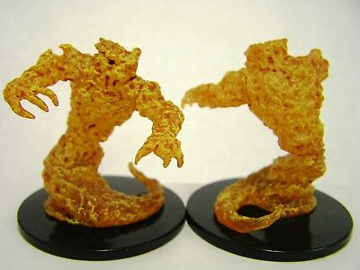 D&D Icons of the Realms - #028 Fire Elemental - Large Figure - Elemental Evil