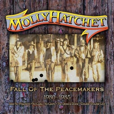 Molly Hatchet - Fall Of The Peacemakers 1980-1985 [New CD] Boxed Set, UK - Impor