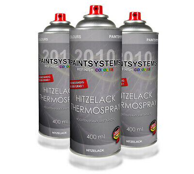Hitzelack Thermospray schwarz 3 x 400ml