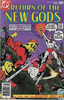 Return of the New Gods No.15 / 1977 Gerry Conway & Rich Buckler