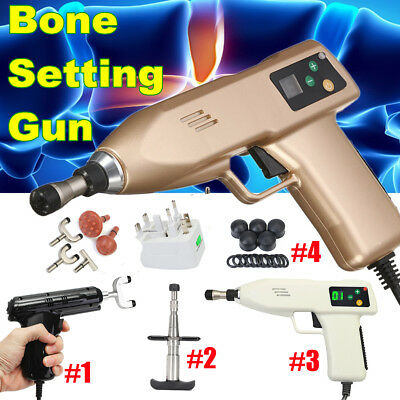 4 Type Electric Chiropractic Adjusting Tool Therapy Spine Gun Activator Massager