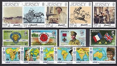 Jersey 3 X Commemorative Sets (39) Used