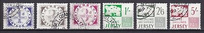 Jersey 1969 Postage Due Set Pre Decimal (41) Used