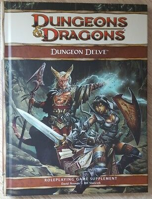 ++ Dungeon Delve 4e ++ D&D 4 th Edition, 4e Dungeons & Dragons