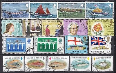 Guernsey 5 X Different Sets (51) Used