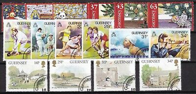Guernsey 3 X Different Sets (53) Used