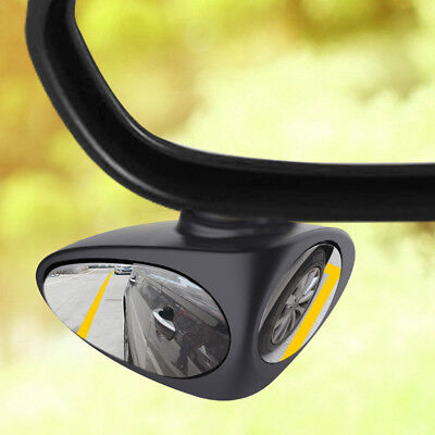 360 Degree Adjustable Glass Rearview Mirror Car Rear View Mirror Wide Angle
