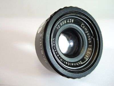 Schneider COMPONON 80mm f/5.6 Enlarging LENS (1974) - Hazy