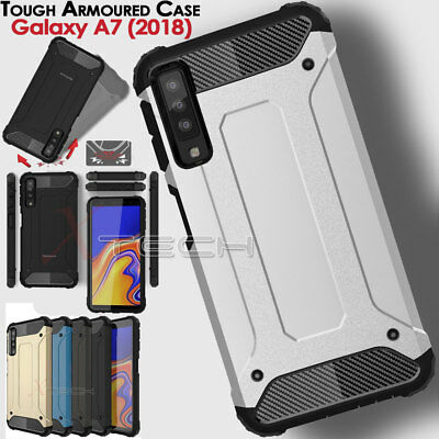 Samsung Galaxy A7 2018 SM-A750F TOUGH ARMOURED Shock Proof Protective Case Cover