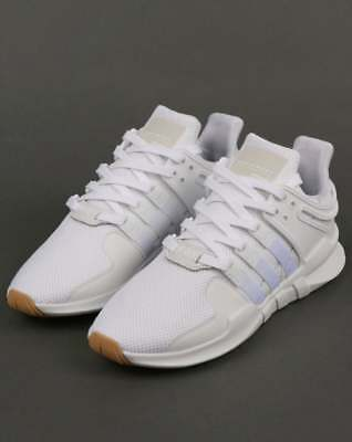 330789590d92 adidas EQT Support Adv Trainers in White   Gum - Equipment Support Advance  SALE