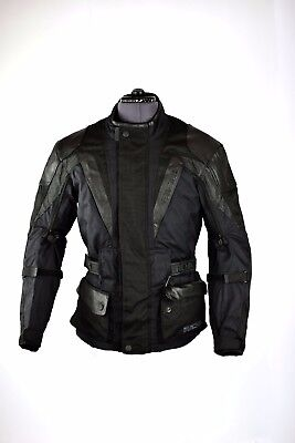 Richa Millennium Black Motorcycle Motorbike Waterproof Jacket