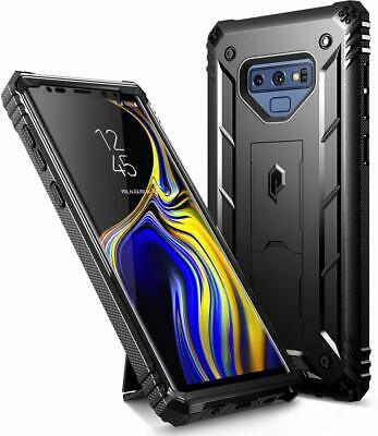Galaxy Note 9 Case w/Kick-stand Poetic® Dual Layer Shockproof Cover Black