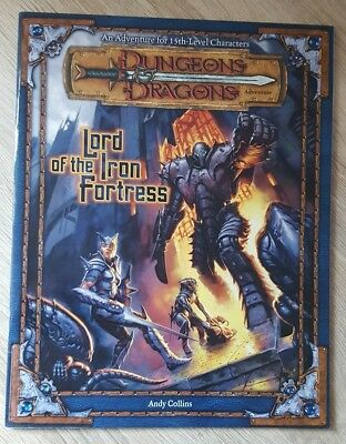 ++ Lord of the Iron Fortress 3e ++ D&D 3 th Edition, 3e Dungeons & Dragons