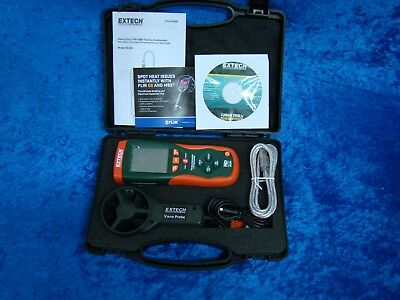 Extech HD300 CFM/CMM Thermo-Anemometer with built-in InfraRed Thermometer