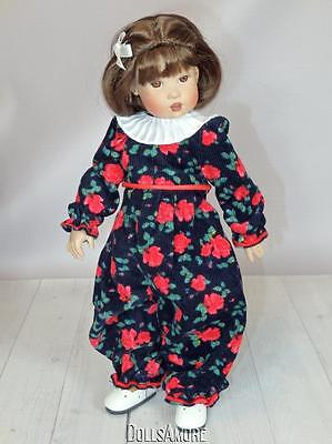 """Helen Kish 11""""-12"""" Michaela Doll Outfit From Leftover Factory Stock"""
