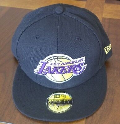 a81b557951d LOS ANGELES LAKERS LA Adidas New Shadow Black   White Fitted Era Hat ...