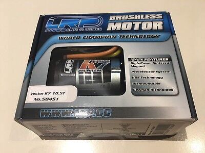 LRP Vector K7 Brushless Motor 10.5T #50451
