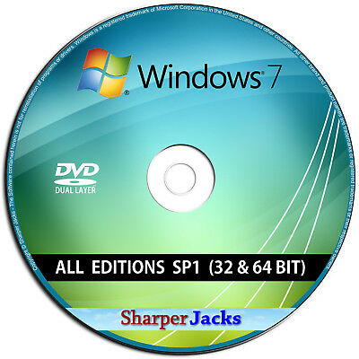Windows 7 ALL Editions 32/64-Bit Install / Reinstall / Restore / Recovery Repair