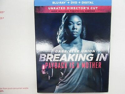 Breaking In PAYBACK IS  A MOTHER (Blu-ray, DVD & Digital Copy, 2018) NEW