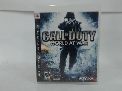 Call Of Duty World At War Playstation 3 Ps3 Complete Cib Very Good