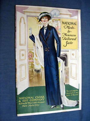National Cloak & Suit Company Women Clothing Catalog 1913