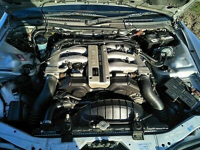 Nissan 300zx VG30 Coupe Engine 1993 Built Engine Prefix DE Manual V6