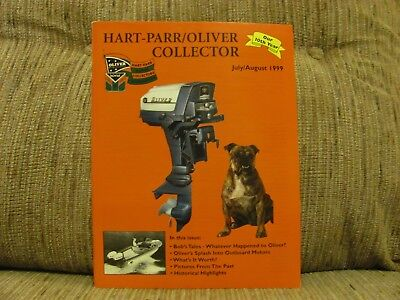 July/August 1999 Issue Hart Parr Oliver Tractor Collector Magazine
