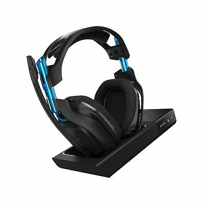 ASTRO Gaming A50 Wireless Dolby Gaming Headset - Black/Blue - PlayStation 4 +...