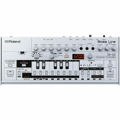 Roland TB-03 Bass Line Synthesizer | Recreation of TB-303 Bass Line Synth New