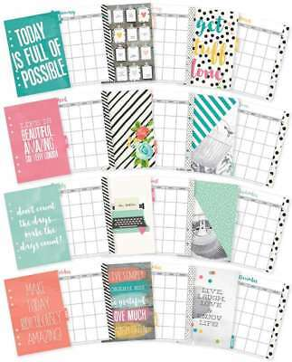Planner Essentials Double-Sided A5 Inserts Monthly 816502022231