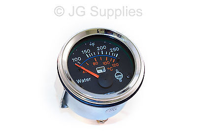 Water temperature gauge chrome bezel 52mm smart