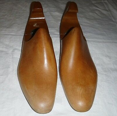 Vintage Wooden Shoe Trees So Tactile Size 10 Ref No.m3749 Hinged For Easy Use