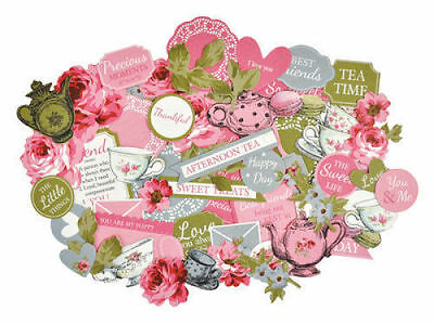 *A&B* KAISERCRAFT Scrapbooking Collectables - High Tea - CT879