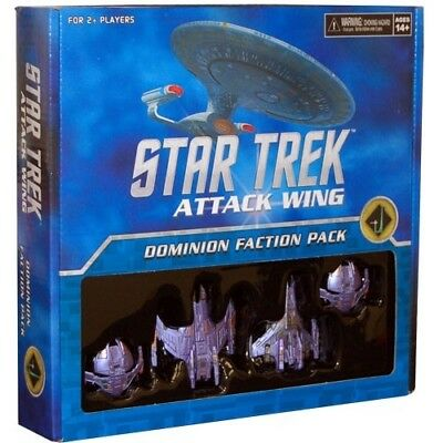 Star Trek Attack Wing Dominion Faction Pack