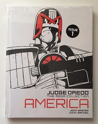 JUDGE DREDD America Issue 1 The Mega Collection New Sealed Hardback