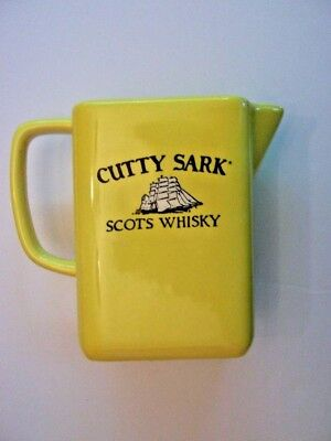 Cutty Sark Scots Whisky Ceramic Bar Pitcher  Made In Mexico
