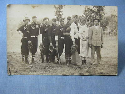 NPAC Baseball Team RPPC Postcard