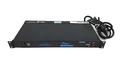 Middle Atlantic Rackmount PDU Power Center PD-915R EMI Filtered Surge Protector