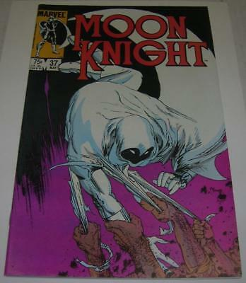 MOON KNIGHT #37 (Marvel Comics 1984) Great Mike Kaluta cover (VF-) RARE